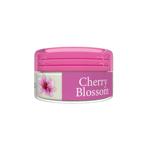 OKAY Organic Flavor Lip Balm Jar - Cherry Blossom - Formulated With Organic Ingredients - Helps Moisturize, Soothe, And Protect Lips- Silicone, Paraben Free For All Skin Types   0.16oz/5gr