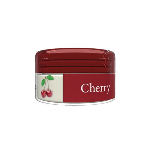 Organic Flavor Lip Balm Jar - Cherry - Formulated With Organic Ingredients - Helps Moisturize, Soothe, And Protect Lips-  Silicone, Paraben Free For All Skin Types - Made in USA 0.16oz/5gr
