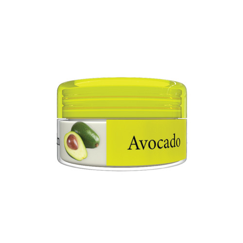 Organic Flavor Lip Balm Jar - Avocado - Formulated With Organic Ingredients - Helps Moisturize, Soothe, And Protect Lips- Silicone, Paraben Free For All Skin Types - Made in USA 0.16oz/5gr