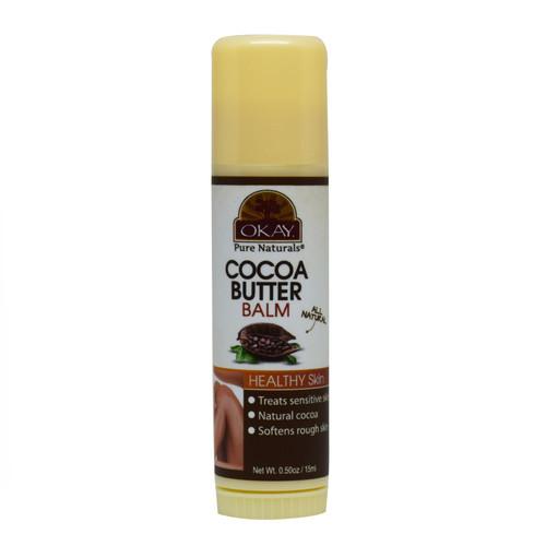 OKAY COCOA BUTTER TUBE STICK .5oz / 15ml