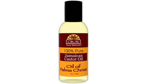Jamaican Castor Oil  - Helps Soothe Scalp & Skin- Helps Treat Skin Conditions-  Helps Naturally Grow Strong Healthy Hair, Helps Balance Oily Hair, Stimulate Hair Follicles - For all Hair & Skin Types- Made in USA-4oz / 118ml