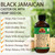Extra Dark 100% Natural Black Jamaican Castor Oil With Hemp Seed Oil - Helps Strengthen Hair- Soothe Scalp & Skin, Helps Naturally Grow Strong Healthy Hair, Helps Balance Oily Hair, Stimulate Hair Follicles - For all Hair Types- Made in USA-
