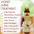 OKAY Pure Naturals Honey Nourishing & Strengthening Shine Treatment | Soft, Smooth, Enhanced Shine And Strong Hair | Created With 12 Natural Oils | No Parabens, No Silicones, No Artificial Colors  | For All Hair Types And Textures | 0.6 oz/18 ml