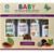 OKAY Pure Naturals- 4pc All-Natural Baby Gift Set (Baby Shampoo 12oz, Calming Bath 12oz, Baby Lotion 8oz, Baby Oil 4oz)