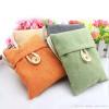 Bamboo Charcoal Air Freshener and Odor Eliminator Bag - 4 Pieces (Green, Orange, Beige & Blue )