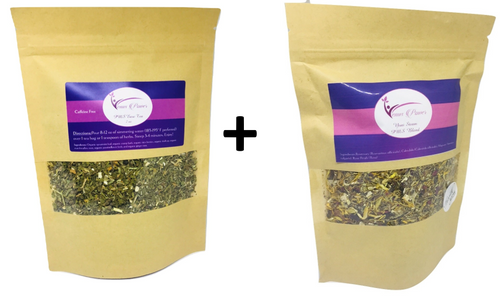 PMS Yoni Steam & PMS Ease Tea Combo