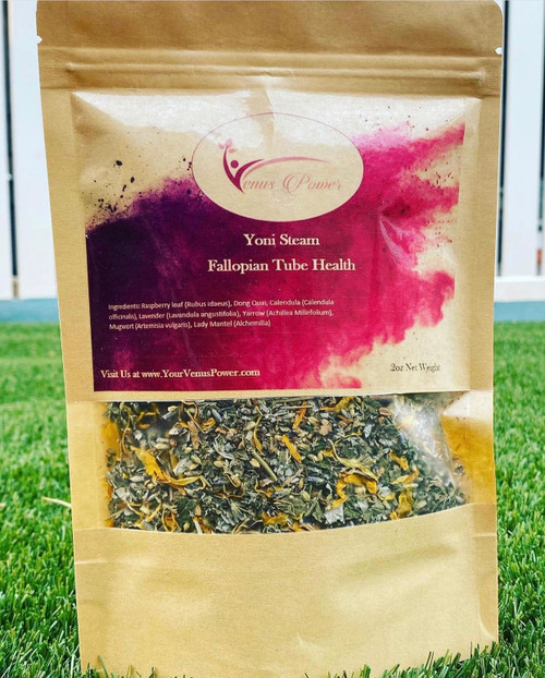A blend of herbs that was design specifically for healing and fertility issues. This unique blend was designed in mind to help women who suffer from blocked Fallopian tubes, pelvic adhesion, endometriosis, and Fibroid.  This blend is excellent for women who are looking to:  Increase Fertility Strengthen Uterus Muscles  Blocked Fallopian Tubes Pelvic Adhesion Fibroid/Cyst Endometriosis