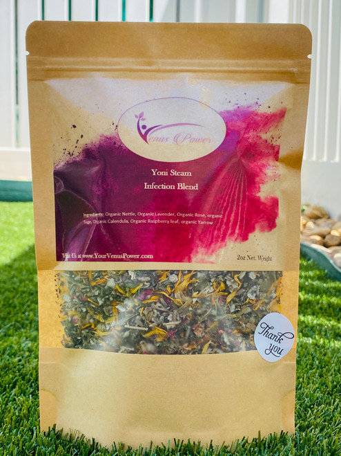 This herbal Blend is excellent for those who are suffering from BV (Bacterial Vaginosis), Yeast Infection, thrush, itching, odor, and another mild infection