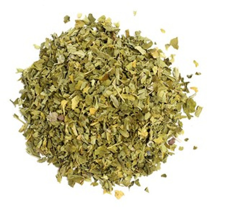 The main ingredien is Skullcap, which is one of the most versatile nervines and is useful for all nervous system disorders, including headaches, nerve tremors, stress, menstrual tension, insomnia and nervous exhaustion. This tea will help calm down headaches due to stress, tension, or even a hangover.