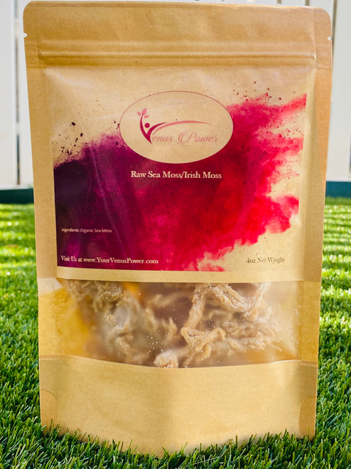 Raw Jamaican Sea Moss/Irish Moss - Wildcrafted