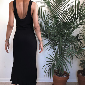 ASOS Ribbed Maxi Dress