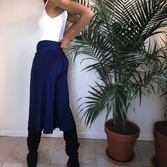 Basic Culotte 3/4 Bottoms