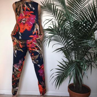 Trina Turk Two Piece Pants Set