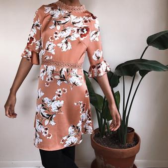Jeuvre Floral Skate Dress