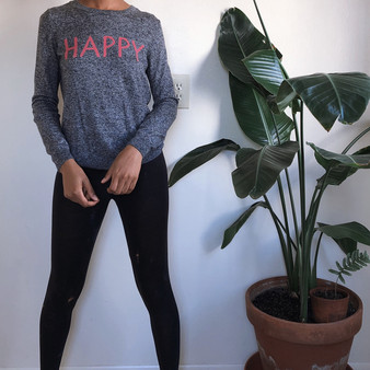 "Gap ""Happy"" Lightweight Sweater"