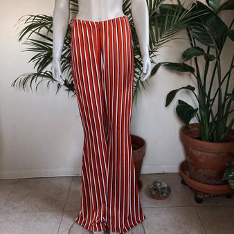 PrettyLittleThing Stripe Bellbottom Pants