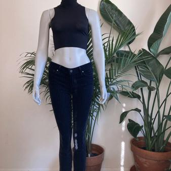 PAIGE Verdugo Ultra Stripe Skinny Jeans