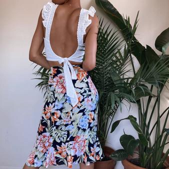 Talbots Floral Skirt