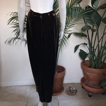 Studio G Velvet Skirt