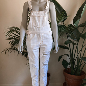 Honey Punch Ripped Dungarees