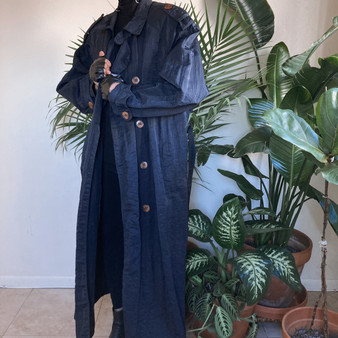 Forte Full Length Men's Trench Coat