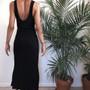 ASOS Ribbed Maxi Dress