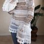 SHEIN Bell Sleeve Top