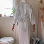 California Dynasty White Robe