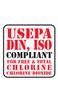 USEPA DIN, ISO compliant logo