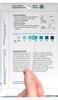 WaterWorks Hydrogen Peroxide packet color chart test strip match