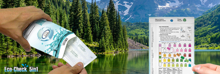 Celebrate Earth Day everyday with SenSafe® Pocket Pack Water Test Strips!
