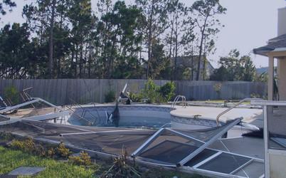 Hurricane Pool Cleanup