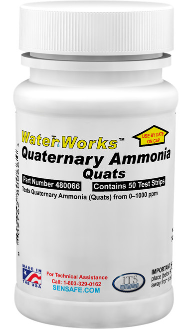 WaterWorks Quaternary Ammonia bottle