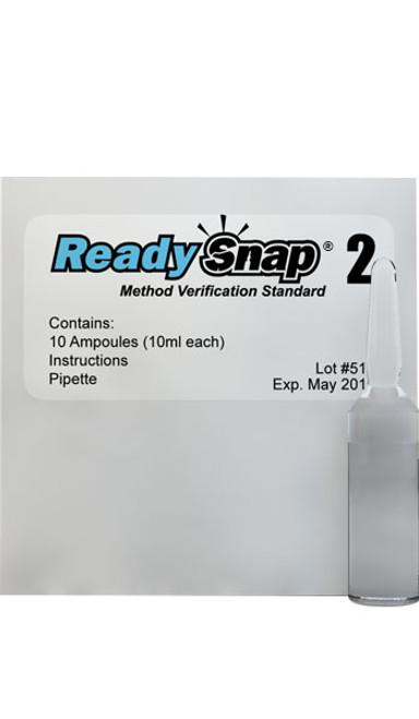 ReadySnap 2 Method Verification Solution