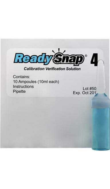 ReadySnap 4 Calibration Verification Solution