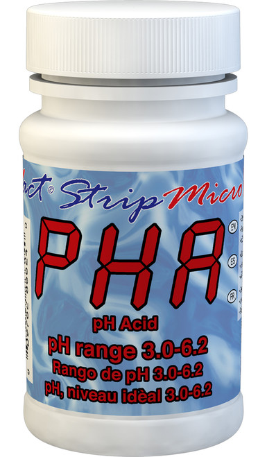 eXact Strip Micro Acid pH bottle
