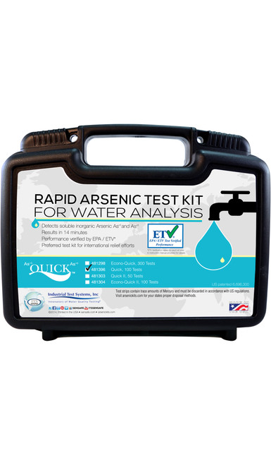 Quick Arsenic for Water, Soil, and Wood kit