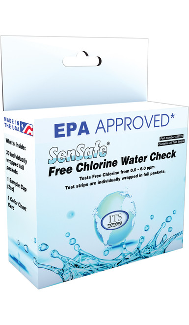 SenSafe® Free Chlorine Water Check - FOIL PACKETS