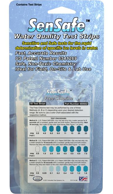 SenSafe® Free Chlorine - FOIL PACKETS