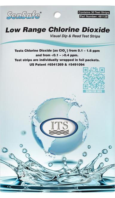 SenSafe Low Range Chlorine Dioxide pack