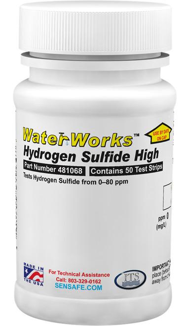 WaterWorks Hydrogen Sulfide High Range bottle