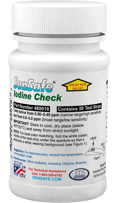SenSafe Iodine bottle