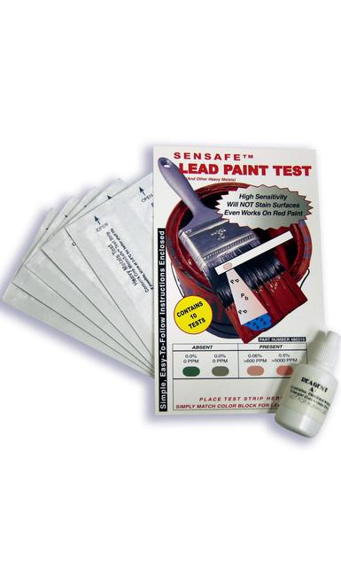 SenSafe Lead Paint Test components