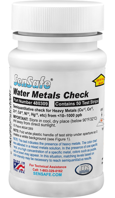 SenSafe® Water Metals Check