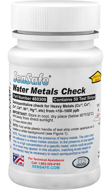 SenSafe Water Metals Check