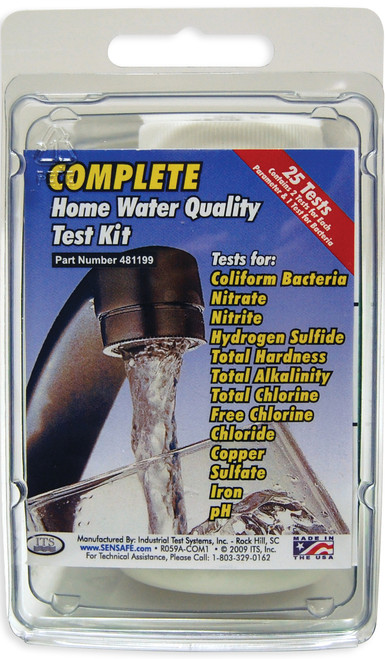 ITS COMPLETE Home Water Quality Test Kit