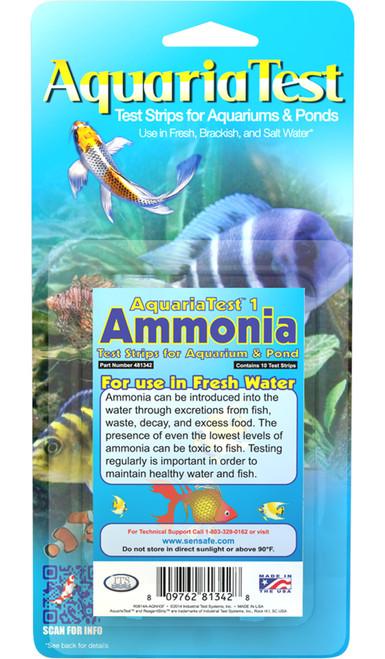 AquariaTest 1 - Ammonia - 10 Pack