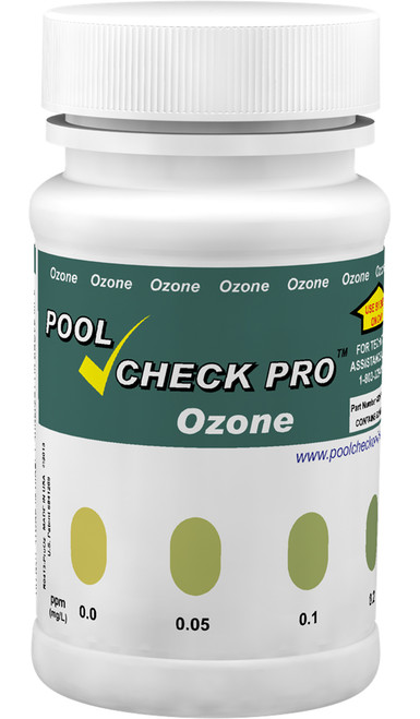 PoolCheck Pro Ozone bottle
