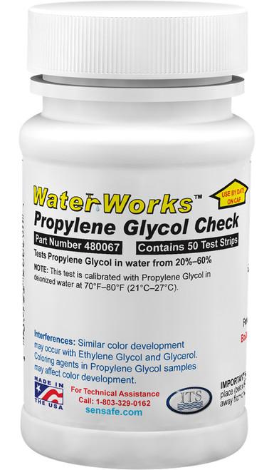 WaterWorks Propylene Glycol Check bottle
