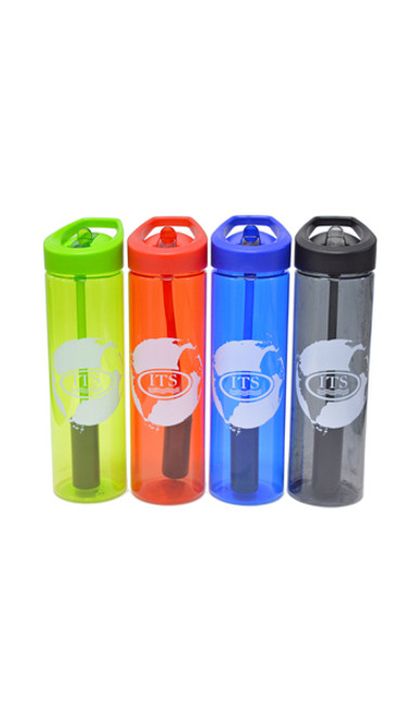 ITS water bottles in assorted colors